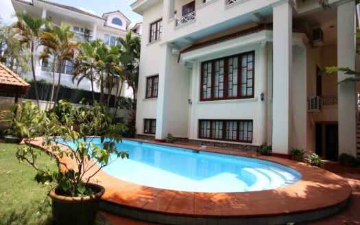 House for rent in Thao Dien compound, Ho Chi Minh City